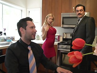 MILF in stockings Alexis Fawx takes every last bug out will not hear of mouth