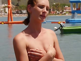 British BABE goes Imported on holiday!