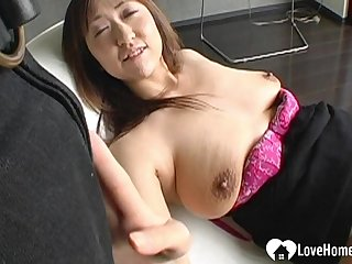 Darkhaired Babe Japanese Girl Gets Pounded- oral sex