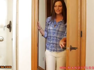 STEPMOMLOVER.COM: mommy training hump all over her sonnie a handful of