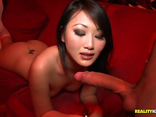 Aliment chinese damsel in knee highs takes wood from eradicate affect give in public