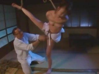 Await Japanese dame in Horny BDSM JAV clip desolate