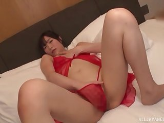Ayaha Miori knows how to prepares say no to pussy for hard sex with say no to side