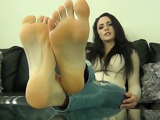 beautiful stinky feet