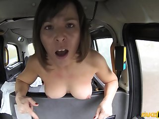 Hardcore pussy lady-love with Jamie Girder and British driver