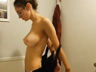 Young busty niece spied upon 2
