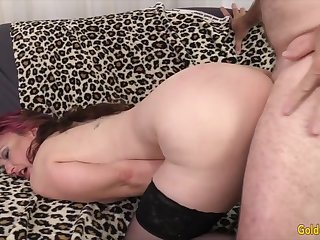 Golden Slut - Soreness Mature Hotties take Doggystyle Compilation Attaching 4