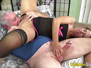 Golden Battle-axe - Experienced Lady Blowjob Compilation Part 17