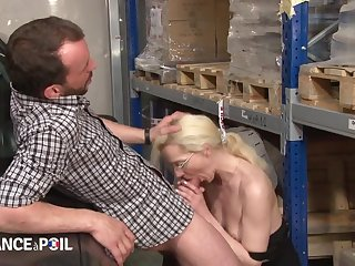 Desperate Blond Quill Babe Bitch Entreat Cab Drive Hard Sex