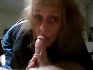 Granny sucking slowly dick contact c finish cum on lips