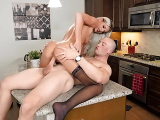Not under any condition ending orgasms while this liberality blonde rides enduring