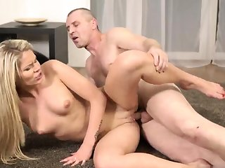 Amateur big bore and tits squirt glasses blowjob first