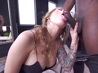 Erotic nude porn on a BBC adjacent to endless cumshot to the end