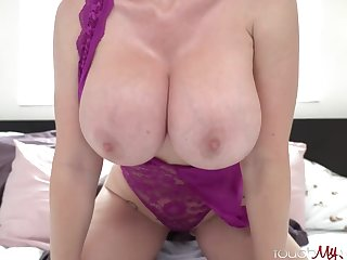Mind-Blowing platinum-blonde mature with thick, hard titties, Casca Akashova loves to have fucky-fucky with step by step fantastic studs