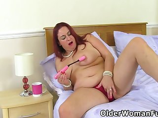 Chubby Grown up Sexy Scorpio Toys Her Hungry Slit