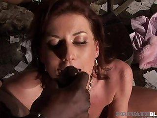 Hot Fucked Off out of one's mind Red Eyed Big Black Cock! - Celine Noiret